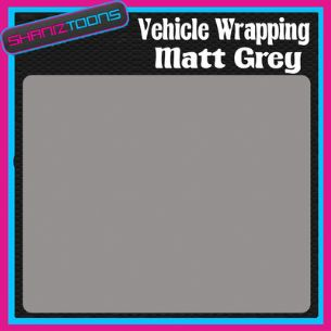 1M X 1520mm VEHICLE CAR VAN WRAP MATT DARK GREY FINISH